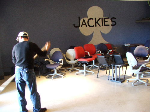 jackie's after poker bust