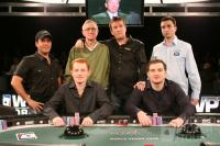 Five Diamond Final Table - Courtesy of the World Poker Tour