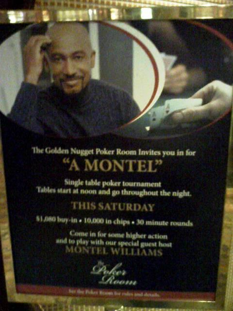 Montel Williams sign