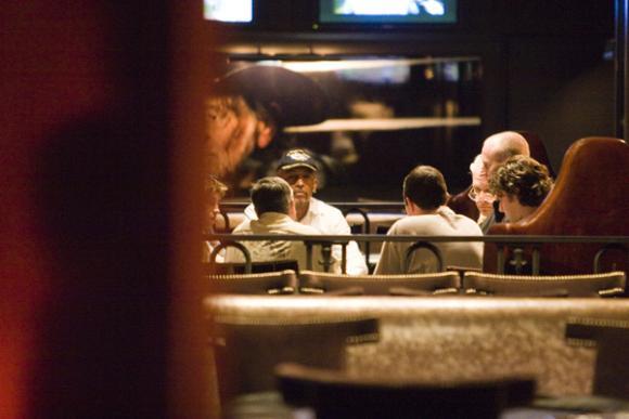 montel at the hard rock poker lounge