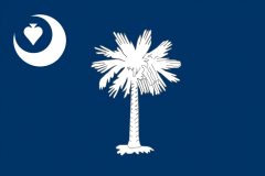 south carolina poker flag