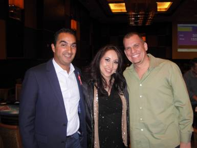 Ante4Autism 2013 with Allen Parvizian, Karina Jett, and Chip Jett