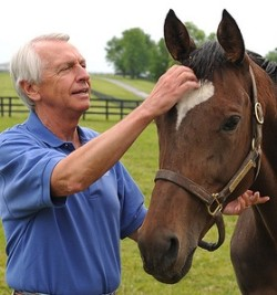 "Gov. Steve Beshear (D-KY) says, ""I'm better than Tom Schneider at HORSE."""