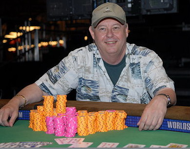 Chris Reslock Photo: WSOP