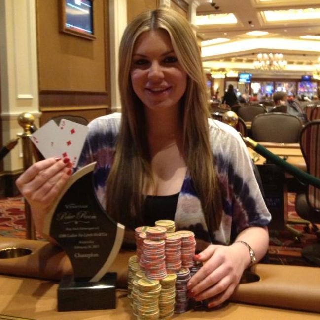Christina Lindley Photo: Venetian Poker Room