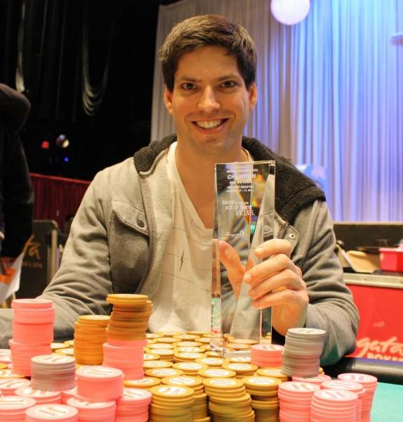 Joseph Stiers Photo: Borgata Poker Blog