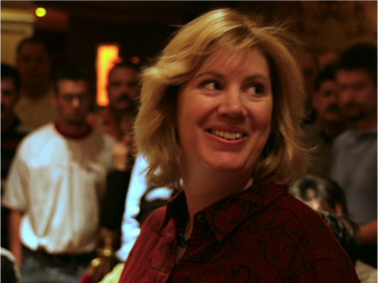 Kathy Liebert in Festa al Lago World Poker Tour 2004. Photo: flipchip / LasVegasVegas.com