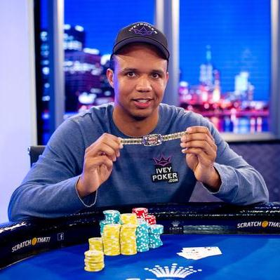 Phil Ivey wins 9th Photo: WSOP.com