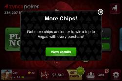 more chips for zynga in vegas