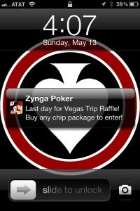 Zynga wants you on your iphone