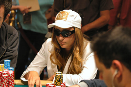 Vanessa Rousso at the 2006 World Poker Tour Five Star. Photo: lasvegasvegas.com