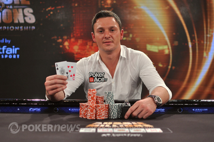 Sam Trickett Photo: PokerNews.com