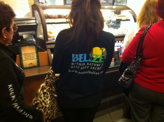 visit belize t-shirts
