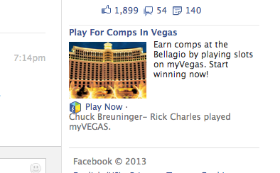 facebook slots bellagio comps