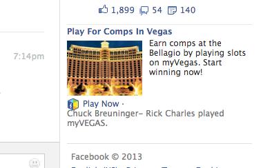 facebook slots bellagio comps