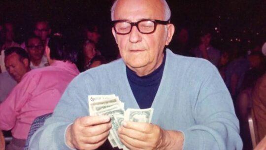 Johnny Moss WSOP