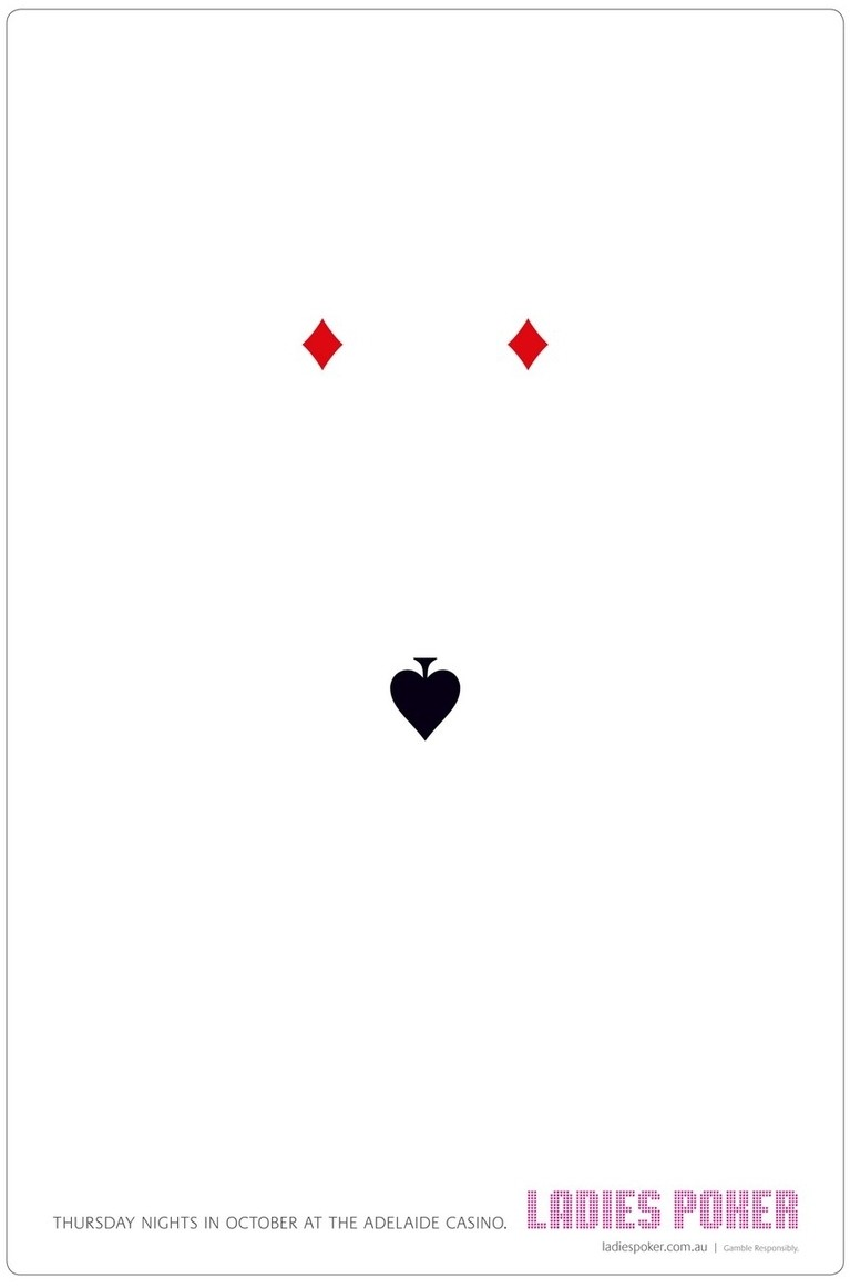 Pokerati applauds Adelaide Casino for their use and placement of our spade.