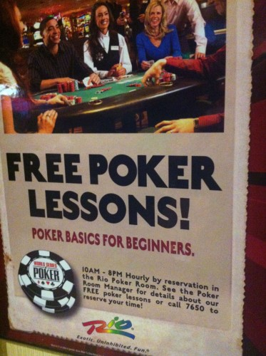 wsop poker lessons at the rip las vegas