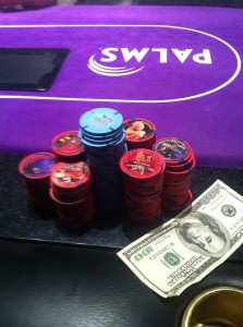 poker room cash