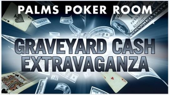palms poker promotion graveyard cash