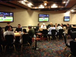 quad poker room