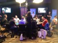 One Drop table featuring Ivey, Seidel and Esfandiari