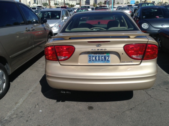 BCKAGN2 (Nevada) The story of many a WSOP player and/or laborer.