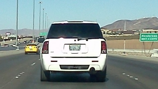 las vegas poker license plate BIGSLIK