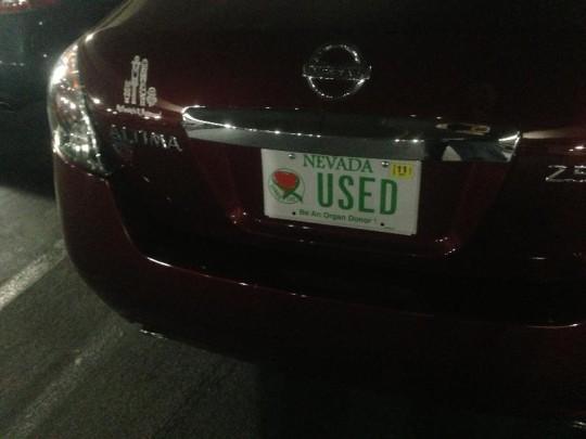 -- USED (Nevada)
