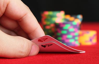 Two Aces casino poker