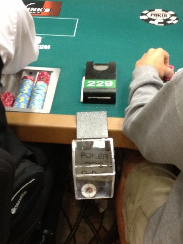 wsop dealer tips
